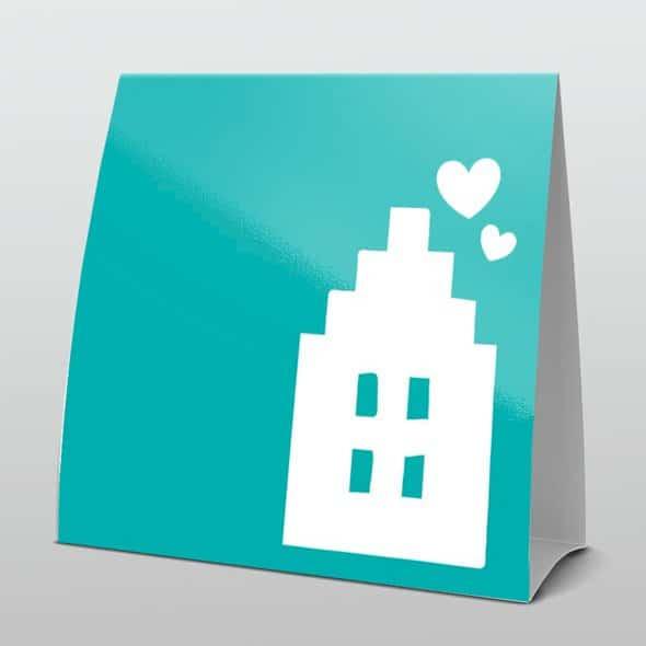 Wonderbaar Zelf verhuiskaart maken - Drukkerij Accuraat - Bemmel HY-35